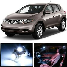 Premium Xenon White LED Lights Interior Package Kit for Nissan Murano