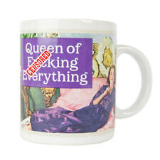 NEW QUEEN OF F*CKING EVERYTHING BOXED MUG RETRO FUNNY CERAMIC CUP GIFT COFFEE