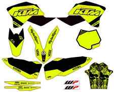 kit adhesivos para ktm exc/sx 125-530 2008-11 sticker, decals, graphics