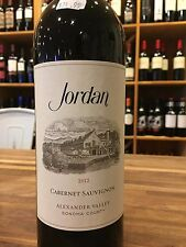 2012 Jordan  Cabernet Sauvignon ***1Bottle*** Wine