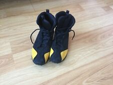 Ecco Black Suede Ankle Boots, Size 5
