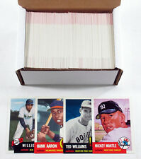 1991 Topps Archives 1953 Baseball Set (330) Nm/Mt ^ Mantle Aaron Mays Williams