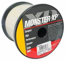 Monster Cable XP High Performance Speaker Wire in Navajo White 50 Ft - 16 Gauge