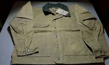 FILSON MADE IN USA  TIN JACKET OILED  item 10007 .TIN CLOTH SIZE medium, -020