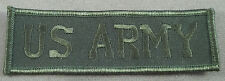 US Army Embroidered Cloth Name Tape With Merrowed Edge