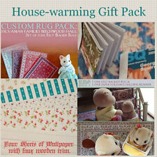 House Warming Gift Pack | Wallpaper, Rugs, Magazines | Sylvanian Families | CC