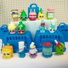 SHOPKINS SEASON 1 Some RARE Jelly B Coolio Green Orange Ice Dream + Bags Baskets