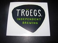 TROEGS BREWERY New Logo nugget nectar STICKER decal craft beer brewing