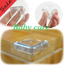 4stk transparent L-förmig Kantenschutz Baby Kinder Sicherheit Möbel Eckenschutz