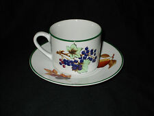 Royal Worcester EVESHAM VALE Teacup and saucer