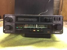 Vintage/Classic PHILIPS 654 (22AC654/02 FTZ) car stereo (cassette/radio )
