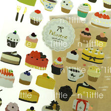 Patisserie Style Transparent Diary Deco Stickers Labels Scrapbook Journal