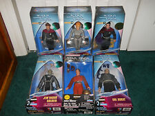 "Star Trek 9"" Voyager + DS9 LOT Janeway Seven Of Nine Chakotay Dukat Jem'Hadar ++"