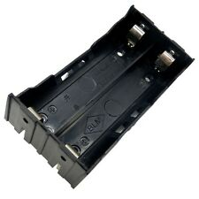 2-Slot Storage Box Holder Case For 2x Li-ion Lithium 18650 3.7V Battery With Pin
