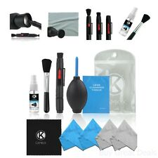 Camera Cleaning Kit Air Blower Dirt Dust Remover Lens Cleaner Microfiber Cloth
