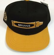 Boston Bruins Officially Liscensed NHL Hat Black and Gold Adjustable With Tag