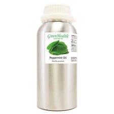 16 fl oz Peppermint Essential Oil 100% Pure Alumium Bottle - Greenhealth