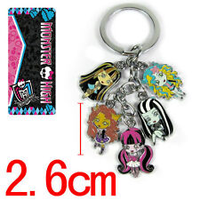 monster high cute metal keychain key chain gift new