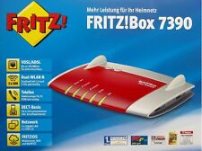 AVM FRITZ!Box Fritzbox Fritz Box 7390 VDSL Router ISDN DECT FAX VoiP KABEL ROT!