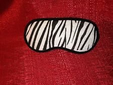 ZEBRA BEAUTY EYE MASK / SLEEP MASK blindfold for blocking out light NEW