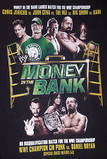 Money in the Bank Small T Shirt Ladder Match WWE John Cena 2012 Phoenix AZ. OOP