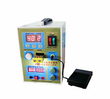 LED Dual Pulse Spot Welder 18650 Battery Charger 800A 36V Micro-computer Spot US