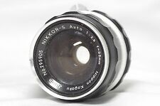 Nikon Nikkor-S Auto 35mm F/2.8 Non-Ai MF Wide Angle Prime Lens SN295905 *As-Is*
