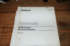 CATERPILLAR D10R Tractor Dozer Crawler WIRING Schematic Service Manual diagram