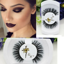 Black Soft Long Luxury Thick Makeup Eye horsehair Lashes False Eyelashes Good