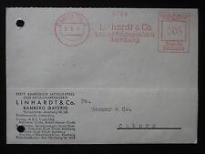 DR Deut. Reich Heimatbeleg Postkarte Linhardt & Co. BAMBERG 31.5.41 Freistempel