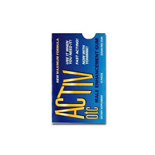 Activ OTC UNISEX or Female Sex Drive Gum 1 Package FREE SHIPPING