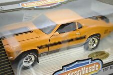 ERTL 1/18 TWISTER 1970 Ford Mustang Mach 1 I ORANGE 7718 American Muscle SEALED