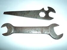 Antique Wrenches Open end Marked 1856 BK Lincs Spencer Co.  USS  Named O Hiatt