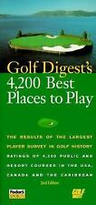 Golf Digest - Best Places To Play 1996 (1996) - Used - Trade Paper (Paperba