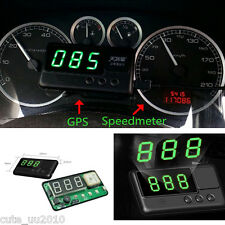 Car HUD GPS Digital Speedometer Head UP Display Projection,Fatigue driving alarm