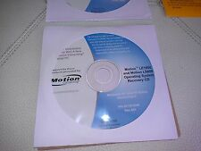 Microsoft Windows XP Tablet PC Edition Pack2  Drivers & Utility Recovery LE1600