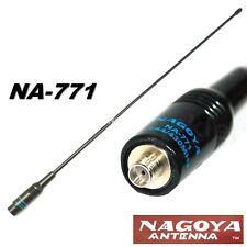 NA-771, NAGOYA ANTENNA FLESSIBILE 39cm 144/430Mhz SMA-M YAESU VX BAOFENG UV3R
