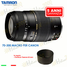 OBIETTIVO TAMRON 70-300 CANON EOS 700D 1200D 650D 60D 600D 6D 750D 760D 1100D