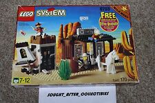 Lego 6755 Sheriff's Lockup Vintage Cowboy Western Wild West Open Box See pics.
