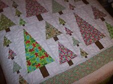 beautiful  QUILT  handcrafted cotton quilt  CHRISTMAS   quilt