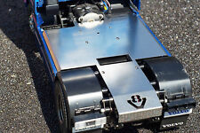 Full plate with v8 logo tamiya frame 4x2 1/14 truck SCALE-PARTS INOX v5 cover