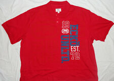 NEW! ECKO UNLTD Red Polo Shirt Mens Big 6X 6XB 6XL NWT!