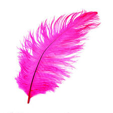 1~10 Ostrich Feather DIY Crafts Natural 30-35cm F/ Wedding Party Costume