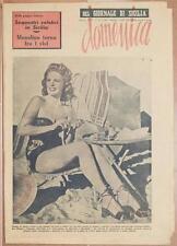 DOMENICA DEL GIORNALE DI SICILIA 7 LUGLIO 1946 MATTANZA SICILIA SEQUESTRI VORNE