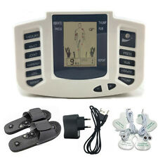 US Electrical Muscle Stimulator Massageador Tens Acupuncture Therapy Machine Set