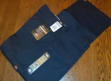 40x32 DICKIES MENS Navy Blue Loose Fit Twill Work pants Brand New