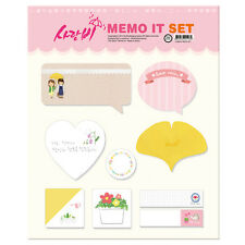 Korea Drama Goods Love Rain Memo It Set (BLC080)