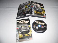 Super Trucks Racing - PS2 Sony PlayStation 2 game Complete