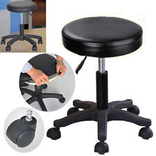Adjustable Barber Tattoo Salon Stool Hydraulic Rolling Chair Facial Massage Spa