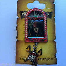 NYC WOD - Pirates of the Caribbean Opening Day - Captain Jack Disney Pin 48145